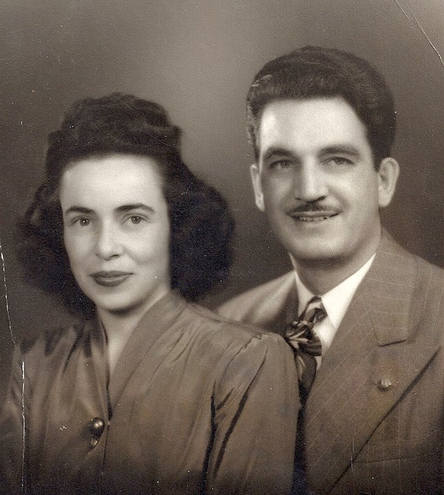 Portrait of Gordon Hugh Morrison and Susie Marie Libby - 1947 - Engagement Photo