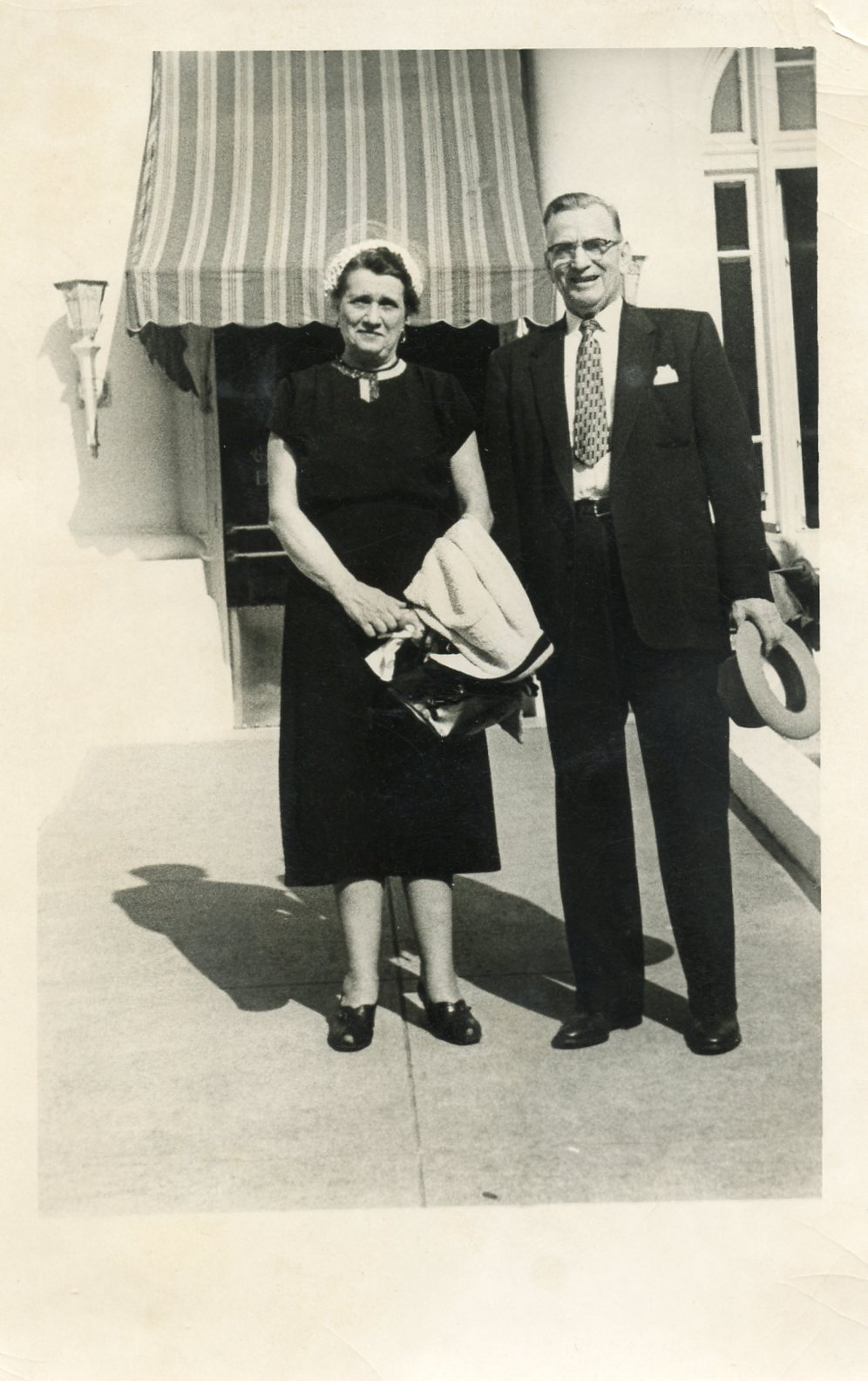 Photograph of Ona Fritz and Dr. Roy Pearson