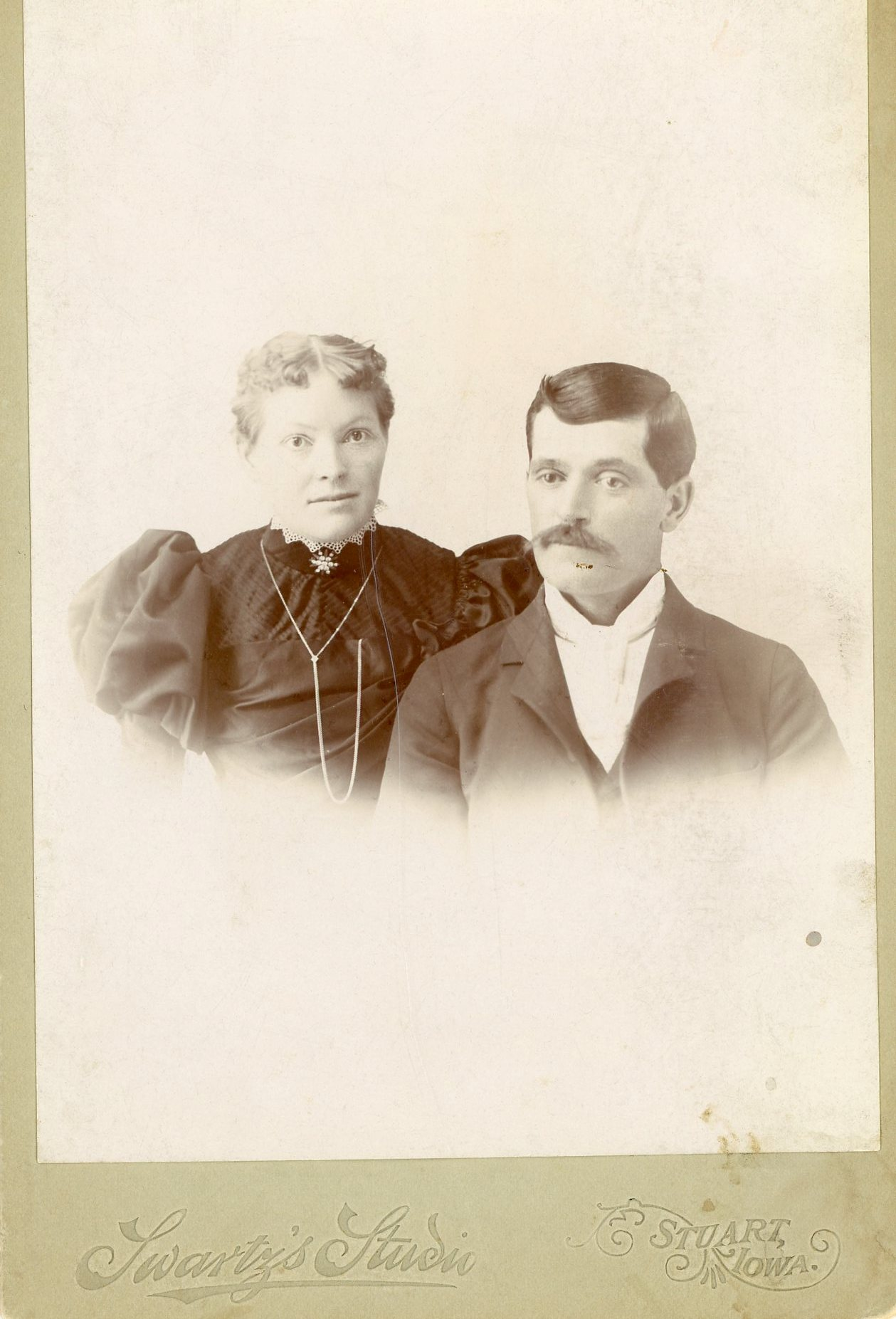 Portrait of William Benedict Fritz and Emma Shumaker