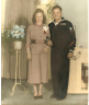 Photograph of Annarose Irene Winter and Ernest Elmer Zoppi - wedding photo